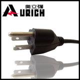 Ende UL-Bescheinigung-amerikanischer Stecker 110V Energien-Kabel AWG-Lehrenema-5-15p männliche
