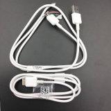 Câble de caractéristiques blanc de port USB de Tvc 1.6A pour l'adaptateur de la note 3 de Samsung (XSSJ-003)