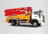 Camion de placement concret de pompe