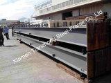 Esquema económico para el almacén de la estructura de acero