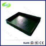 Rectángulos antiestáticos del ESD del plástico negro (Egs-Xym-ESD 8209A)