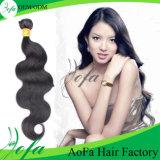 Разные виды человеческих волос девственницы курчавых волос Weave индийских