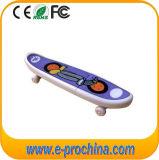 Movimentação do flash do USB do PVC para a amostra livre