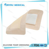 Woud avanzado Care Dressing Silicone Bordered Foam en Sacral para Wound Healing