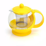 Stainless Strainerの750ml Glass Teapot Water Pot Water Kettle