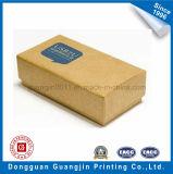 Boîte-cadeau rigide de carton de papier fait sur commande de rectangle