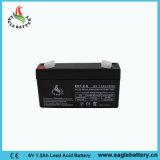 batería sin necesidad de mantenimiento del AGM VRLA SLA de 6V 1.2ah para la escala