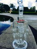 Tubulação de água de vidro personalizada Waterpipes de vidro fundida de Receycle a mão a mais nova por Enjoylife Fábrica