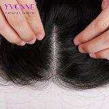 Fechamento brasileiro da parte superior do cabelo da onda do corpo