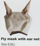 Cheval Gear Fly Mask Extra Nose avec Ear et Fly Mask With Ear Net