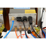 Máquina de revestimento dobro do pó do sistema de vibração
