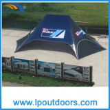 16X21m Outdoor Advertizing Double 폴란드 Shelter Star Shade Tent