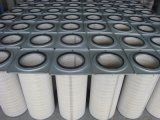 Cartucho reverso del filtro de aire del jet para el polvo plástico