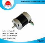 motor redondo del motor eléctrico del motor de 57bly01 BLDC