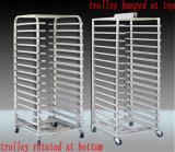 Horno de gas rotatorio de la panadería del estante del aire suave del acero inoxidable Yzd-100 con Ce y la certificación de la ISO