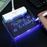 Painel de mensagens Brilho ajustável Sensor de toque Flexível Gooseneck USB Lâmpada de leitura recarregável de luz LED