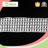 Água extravagante da tela do laço da guipura do algodão do Applique do estilo - laço solúvel
