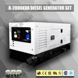 генератор 15kVA/15kw 50Hz звукоизоляционный тепловозный приведенный в действие Perkins (SDG15PS)