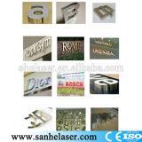 Nueva soldadora de laser para las letras de canal de los anuncios
