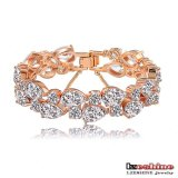 Women (CBR0004-C)를 위한 호화스러운 Colorful Cubic Zirconia Bracelets