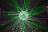 Lasers de alta potencia de la luz laser del RGB de la animación para el lugar de la hospitalidad con DMX