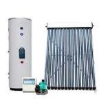 Unter Druck gesetzter aufgeteilter aktiver Wärme-Rohr-Solarwarmwasserbereiter