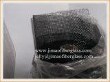 acoplamiento negro de la pantalla del insecto de la fibra de vidrio 115g