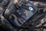 Boîtier pc antichoc chaud de Camo pour la galaxie S6 de Samsung