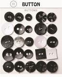 Деревянная кнопка для просто конструкции & 2 отверстий & 4 отверстий & кнопок смолаы лазера & рубашки повелительниц
