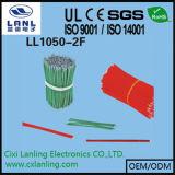 Серый плоский кабель тесемки UL2651 с разъемами D-SUB