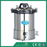 Autoclave cilíndrica horizontal médica do Sterilizer do vapor da pressão do controle do microcomputador