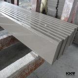 Controsoffitto di pietra di superficie solido personalizzato della cucina di Tesin