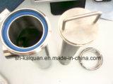 Filtro de la leche del filtro de la tubería del acero inoxidable