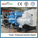 Mtu1000kw/1250kVA de Op zwaar werk berekende Diesel Reeks van de Generator