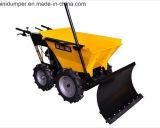 Mini transportador 4WD da agricultura com movimentação Chain