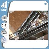 Escalera móvil de interior de la seguridad de la anchura 600m m del paso de progresión para el supermercado