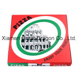 Cajas de pizza corrugadas para embalaje de alimentos (PB160612)