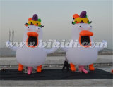 オランダの膨脹可能な鶏の漫画、オランダの販売K9052のための膨脹可能な鶏の気球