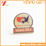 Hot Selling Colorful Fashionable Printing Badge Pin with Epoxy