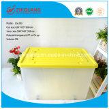Hochleistungsplastik75L ablagekasten-beweglicher Nahrungsmittelbehälter-Geschenk-Kasten-Schuh-Kasten mit Rädern für Haushalts-Produkte