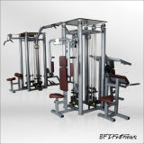 Equipamento para ginásio comercial / 8 Station Sports Goods / Bodybuilding Fitness Equipment