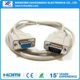 Witte dB9 aan VGA Cable M/F Serial Extension Cable RS232