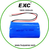 Prix de gros 18650 Authentic Lithium Ion 18650 Battery 3.7V 2000