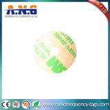 De Markeringen van de Sticker RFID van pvc DVD van het Bewijs van het water met Lijm in Spaander Ntag213