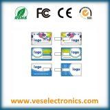Custom USB Flash Drive Produtos promocionais Cartão de crédito Unidade USB 1gig 2gig 4gig USB Flashdisk
