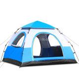 Personen-Zelte des Großverkauf-3-4, preiswerter spinnender Typ automatische kampierende Zelte