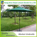 Stahlpole-Garten-im Freiensonnenschutz-Markt-Regenschirm-Sonnenschirm