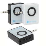 3.5mm Stereo FM Music Audio Bluetooth 3.0 Adaptador do receptor