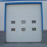 Дверь крупноразмерной внешней панели пены полиуретана промышленная секционная (HF-012)