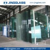 Vidro Tempered liso de vidro de flutuador da segurança de construção do edifício
